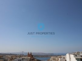 MELLIEHA - Three bedroom apartment with spacious terrace enjoying views - For Sale