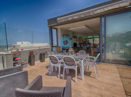 MELLIEHA - Furnished three bedroom duplex penthouse - For Sale