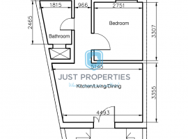QAWRA - Ready built Maisonette one bedroom and study - For Sale