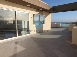 QAWRA - One of a kind highly finished Penthouse enjoying open sea views - For Sale