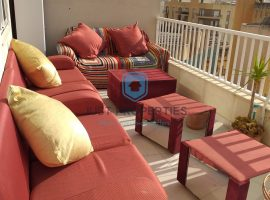 QAWRA - Highly finished apartment with spacious sunny terrace - For Sale