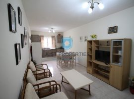 ST PAUL'S BAY - Furnished two bedroom apartment with front balcony - For Rent