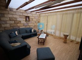 BUGIBBA - Furnished two bedroom maisonette with nice back yard - For Sale