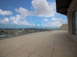 MELLIEHA - Spacious corner Three Bedroom Penthouse with large terrace - For Sale