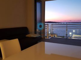 BUGIBBA - Seafront modern two bedroom apartment - For Sale