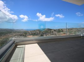 MELLIEHA - Highly finished two bedroom apartment enjoying open country and sea views - For Sale