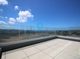 MELLIEHA - Three bedroom penthouse enjoying a very spacious terrace with swimming pool - For Sale