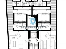 ZEBBUG - Brand new three bedroom apartment with front/back terraces - For Sale