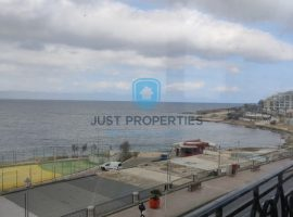 BUGIBBA - Seafront furnished three bedroom apartment with nice terrace - For Sale
