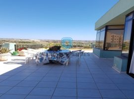 QAWRA - Top floor apartment with spacious terrace enjoying open country views - For Sale